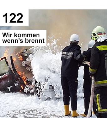 122 Wir kommen wenn's brennt